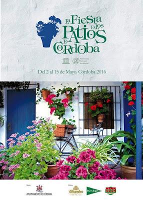 Cartel de la Fiesta de los Patios de Córdoba 2016