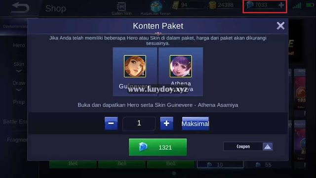 Script Diamond Mobile Legends Premium Patch Terbaru 2019