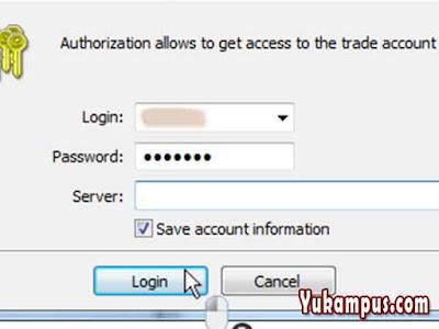 cara login akun live real instaforex di instatrader pc atau android