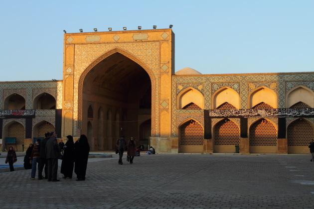Sunset at Masjid e-Jame, Isfahan, Iran
