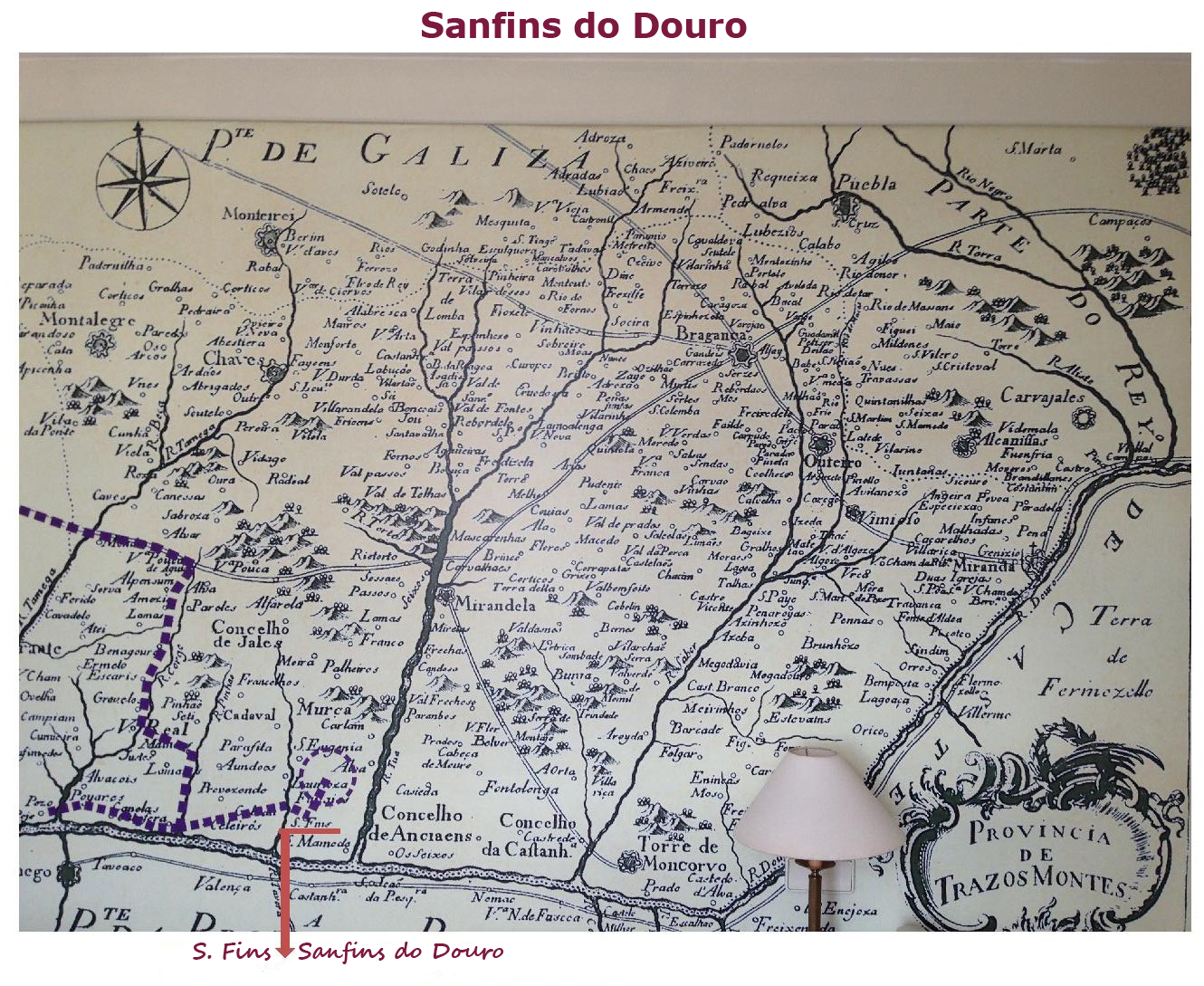 sanfins do douro mapa Sanfins do Douro: Sanfins do Douro (S. Fins) sanfins do douro mapa