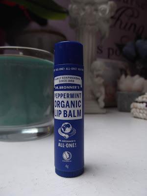 Dr. Bronner's Peppermint balzam na pery