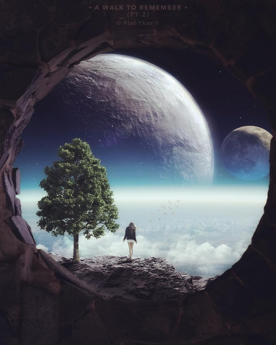 04-A Walk-To-Remember-Plat-Ykor-Surreal-and-Fantasy-Photo-Manipulations-www-designstack-co