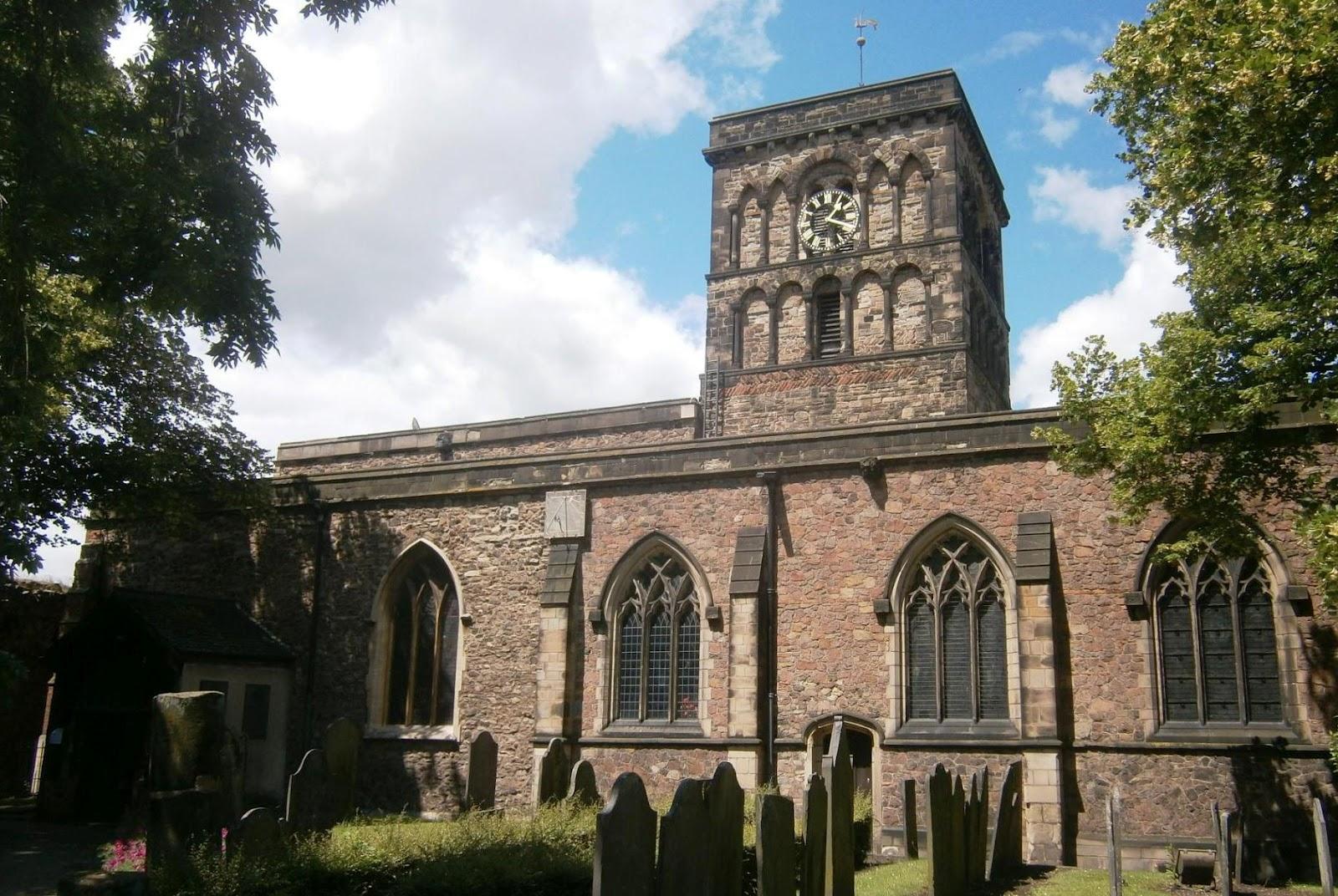 Liberal England: St Nicholas Church, Leicester