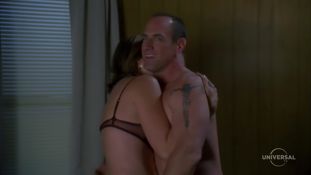Law Order's Christopher Meloni Poses Shirtless On A Boat