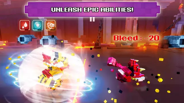 Super Pixel Heroes Hack Apk