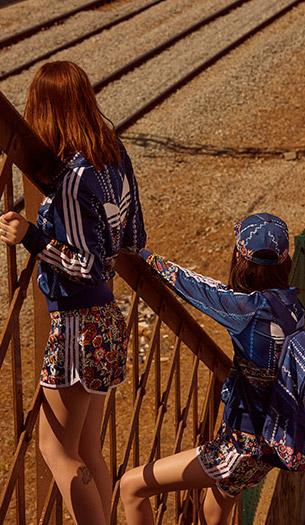 jaqueta firebird short boné mochila Farm e Adidas Originals quinta coleção
