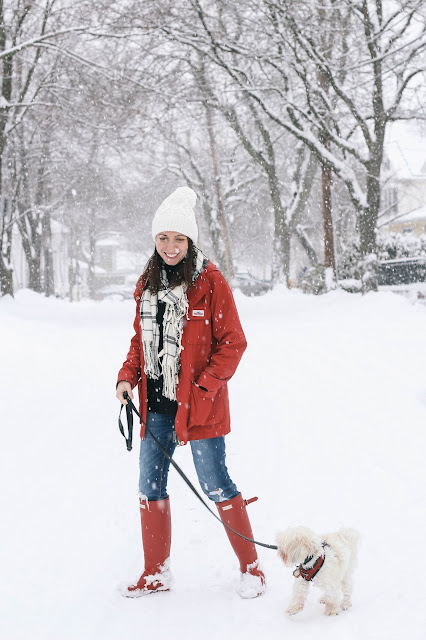 Fun snowfall style on The Northern Magnolia
