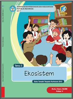 Buku Guru Kelas 5 Tema 5 Ekosistem Kurikulum 2013 Revisi 2017