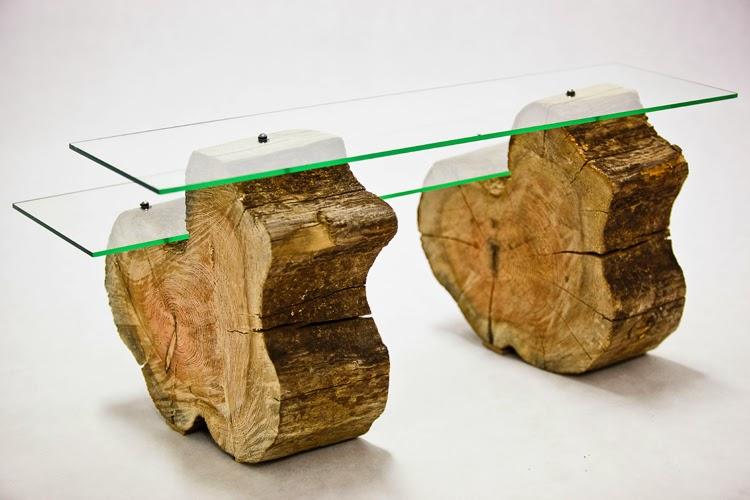 meble ze starego drewna, recykling drewna