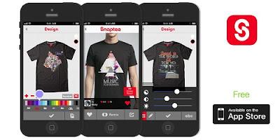 aplikasi desain baju kaos terbaik