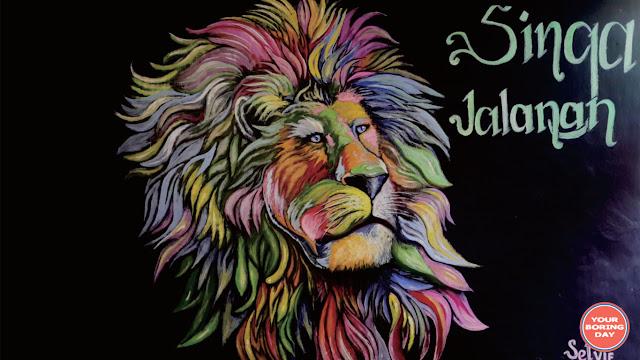 Lukisan di Kampung Warna-Warni Jodipan