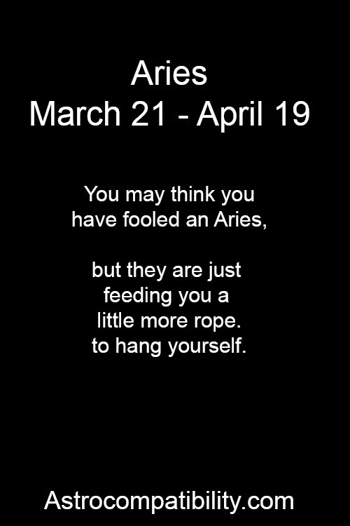 Everthing About Aries: Virgo and Aries Compatibility