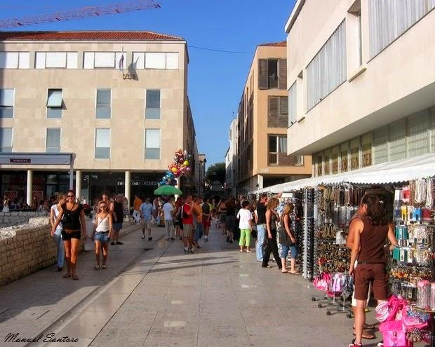 Zadar, centro cittadino