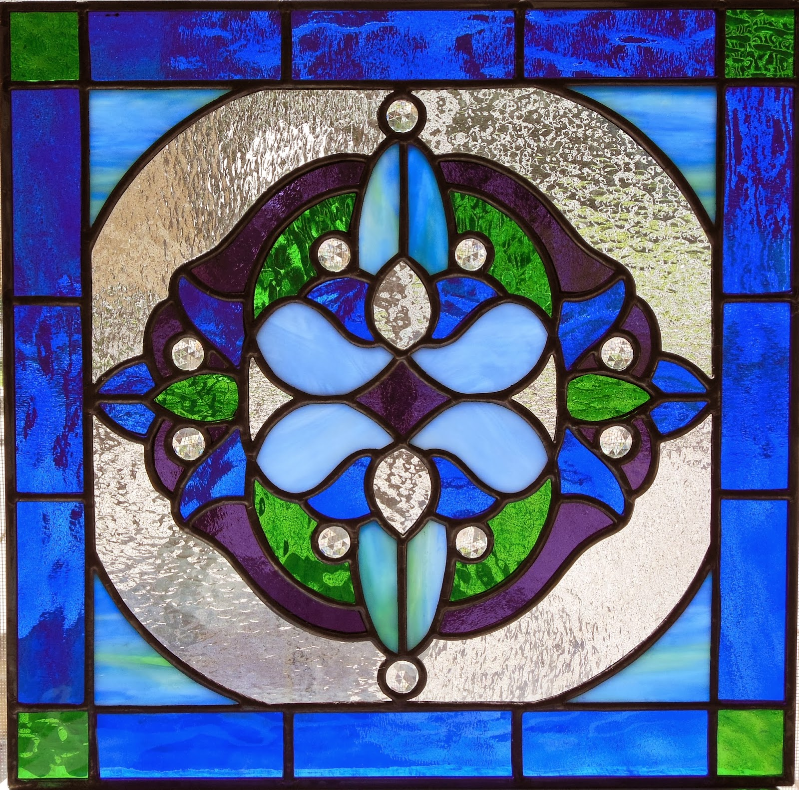 Vintage Style Stained Glass - Baltimore/Washington DC