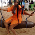 Hilarious__ Lady Rides On D**K Shaped Swing{Photo}