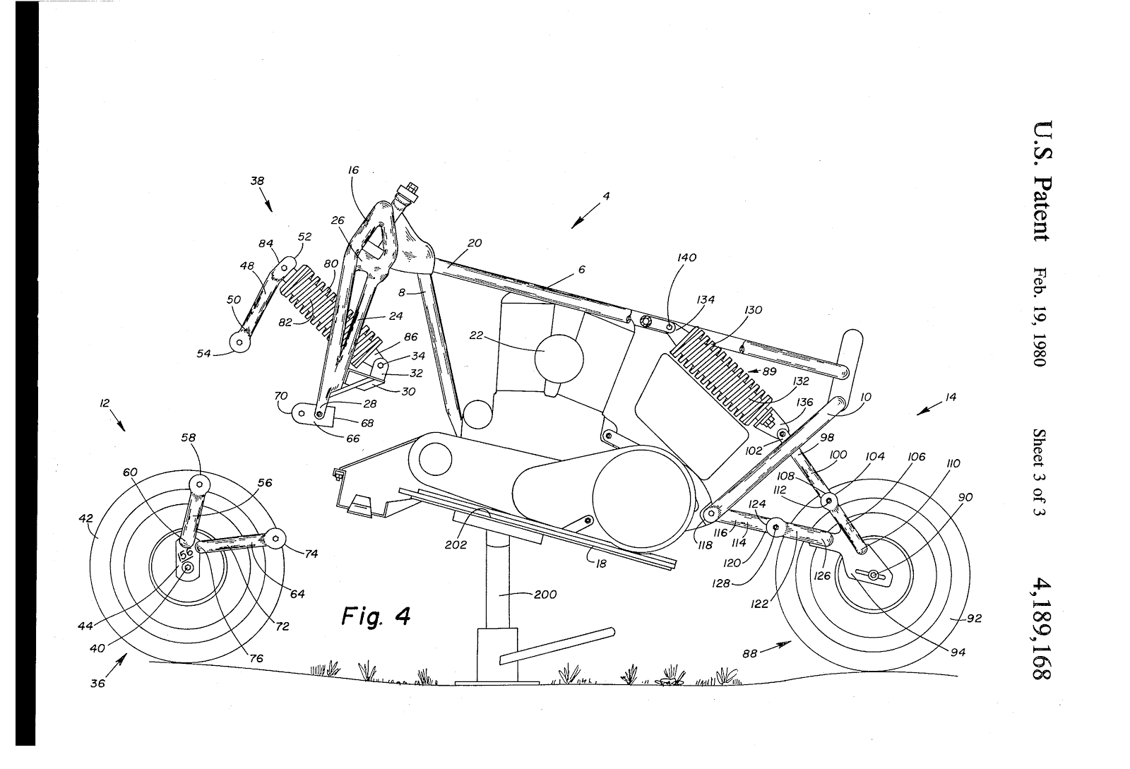 Orley Ray Courtney's final suspension design