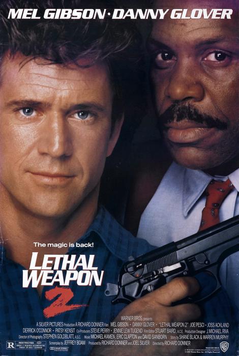 Poster Arma Mortală 2
