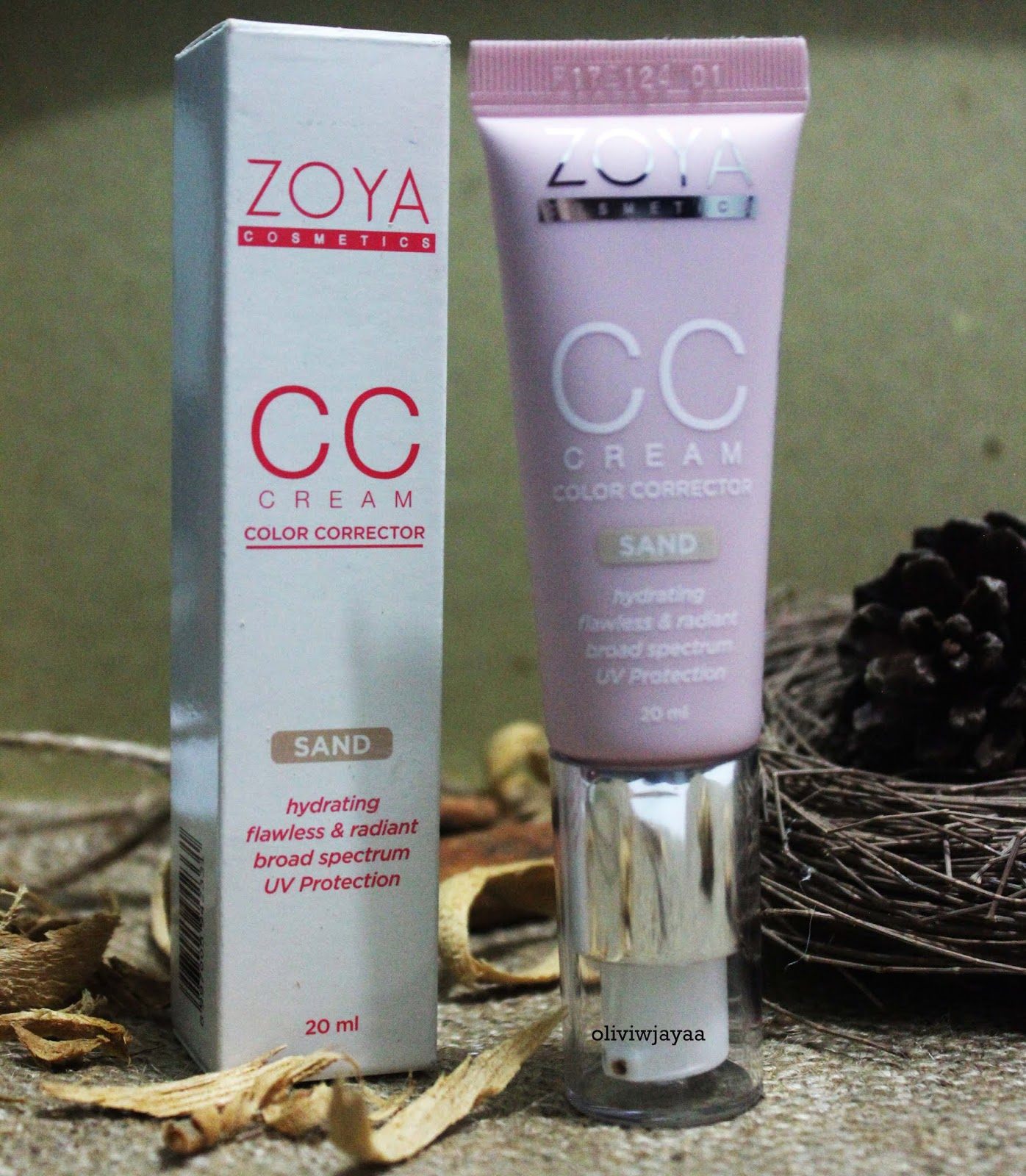 APA ITU CC CREAM REVIEW  CC CREAM ZOYA COSMETICS