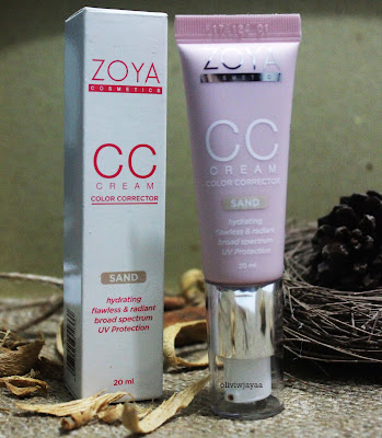 APA ITU CC CREAM ? { REVIEW } CC CREAM ZOYA COSMETICS