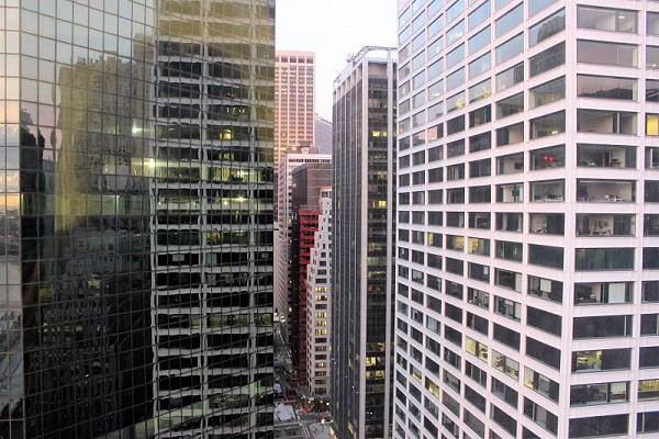 View from Hotel room Fairfield Inn by Marriott Financial District