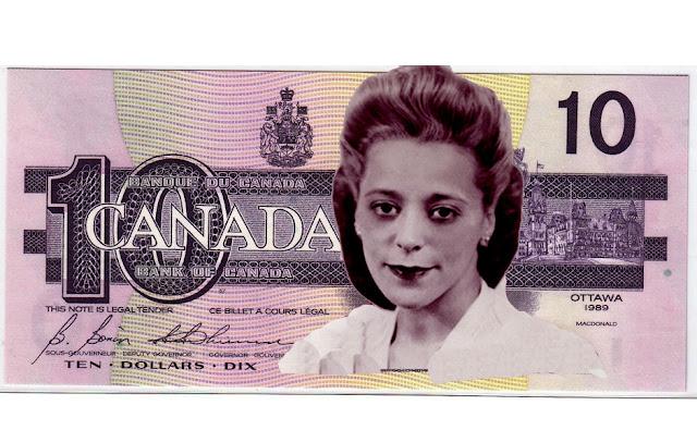 10 Canadian Dollar bill depicting Viola Desmond