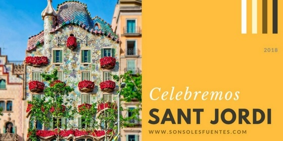 Celebración del Día Internacional del Libro y Fiesta de Sant Jordi 2018