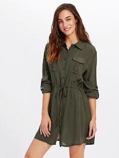 SHIRT DRESS | PRETTY FUSION