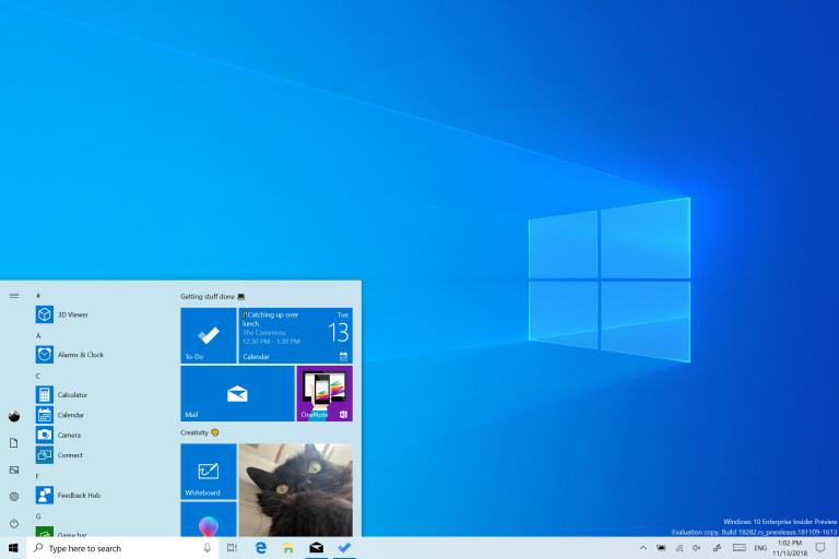 Windows 10 Insidier Windows 10 20H1 Build 19023