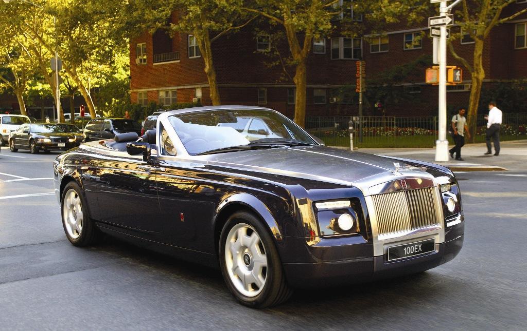 Acabados del Rolls Royce