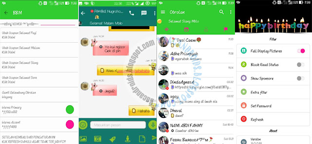 Download BBM Mod Season 9 keMOD versi 3.0.0.18 Apk Terbaru For Android