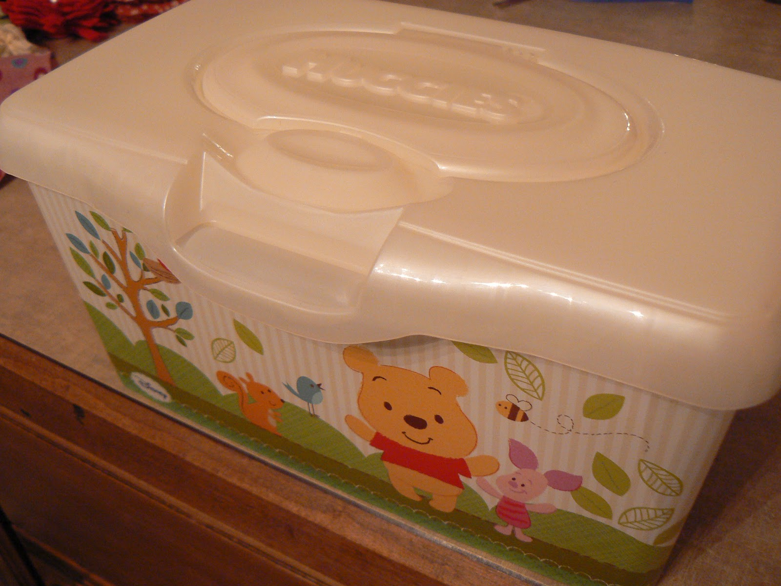 The Creative Homemaker Altered Baby Wipes Container