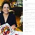 Em restaurante, Dilma é surpreendida por mensagem em prato; confira
