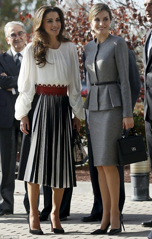 Queen Rania: Fashion Trends, Style Tips