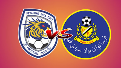 Live Streaming PJ City FC vs Pahang Liga Super 4.5.2019