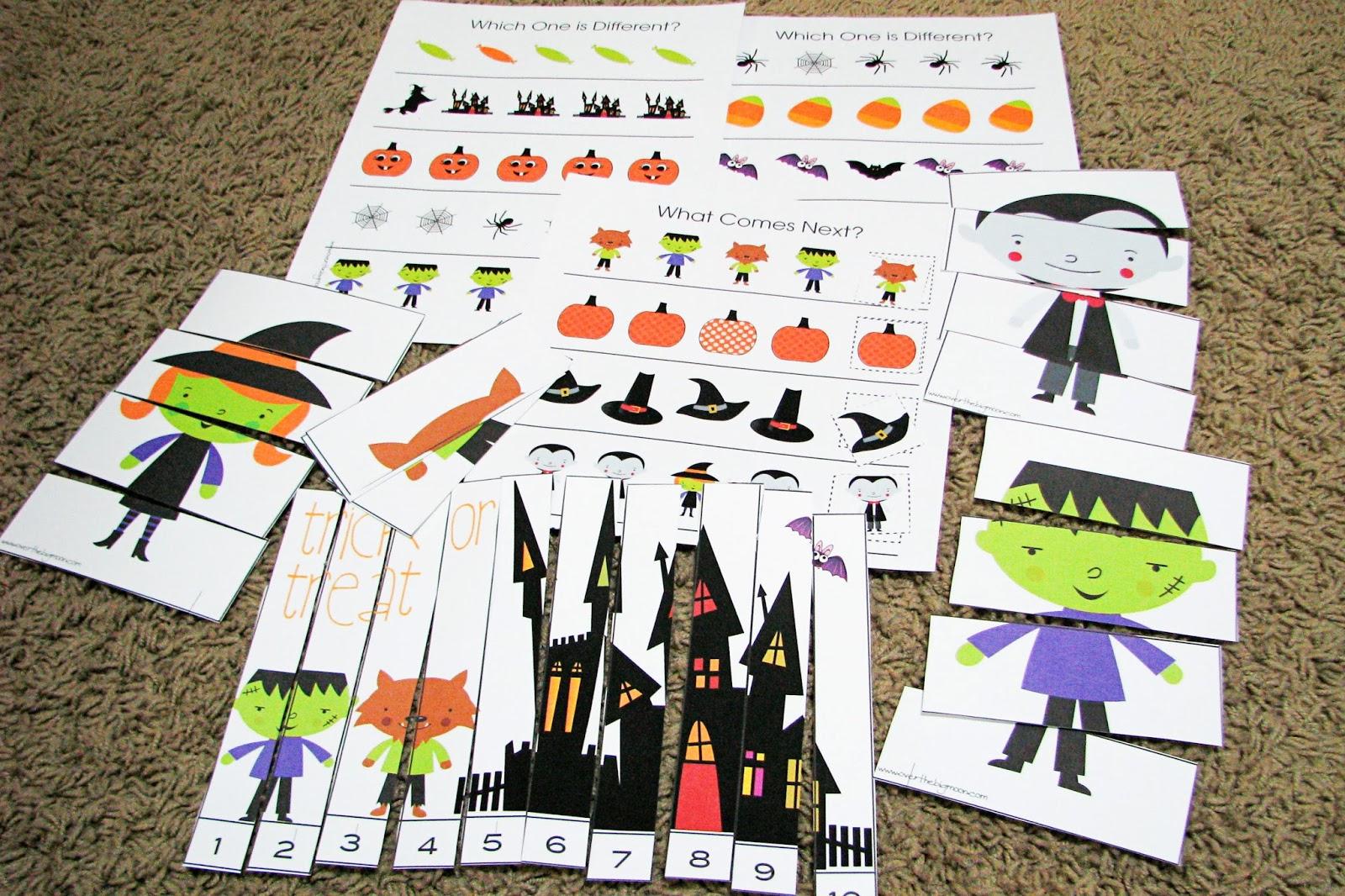 Mommy S Little Helper Halloween Preschool Theme