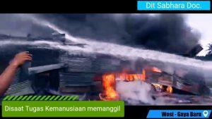 Polda Papua Barat Pertanyakan Kinerja Pemadam Kebakaran Pemda Manokwari