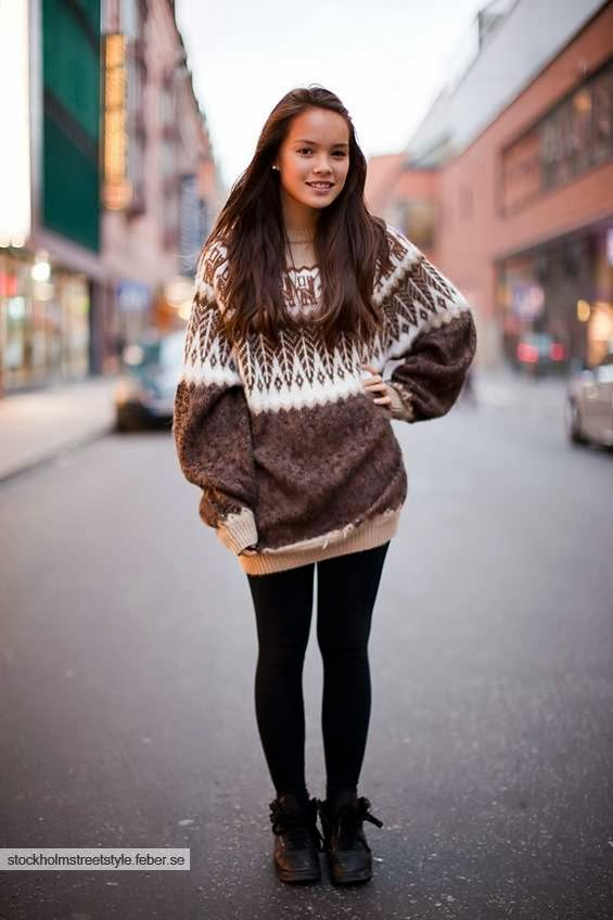 4960df8213 LadySpace  How to wear oversized sweaters