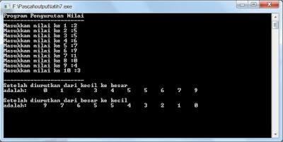 Berlatih Membuat Program Pascal Bagian 7
