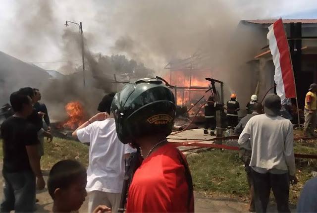 Kebakaran di Palopo