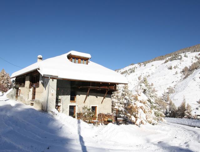 Raquettes à neige dans les Alpes du Queyras