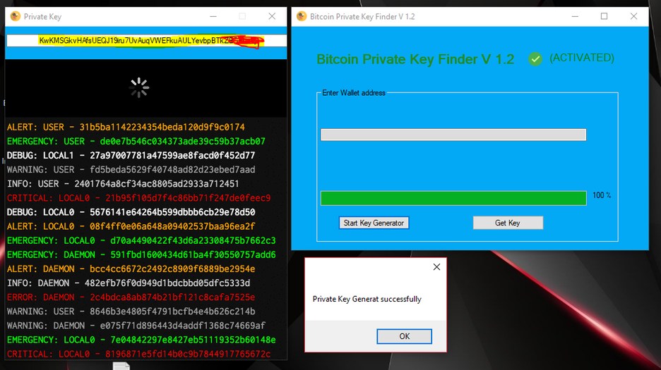 Bitcoin private key finder github