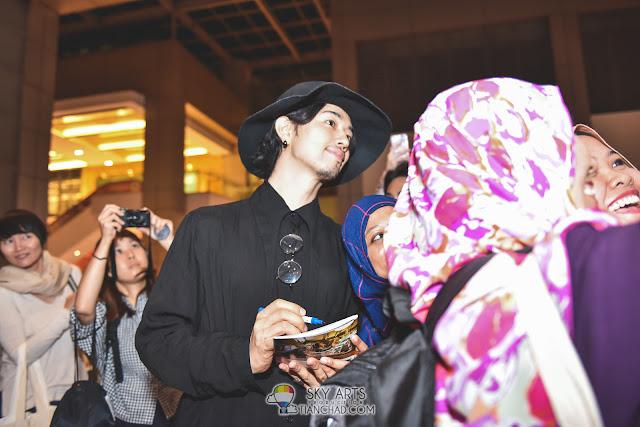 Takumi Saitoh  斎藤工 at Japanese Film Festival 2017 GSC Pavilion KL