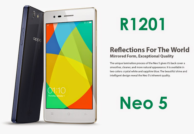 Review Oppo Neo 5 (1201) - New Gadget