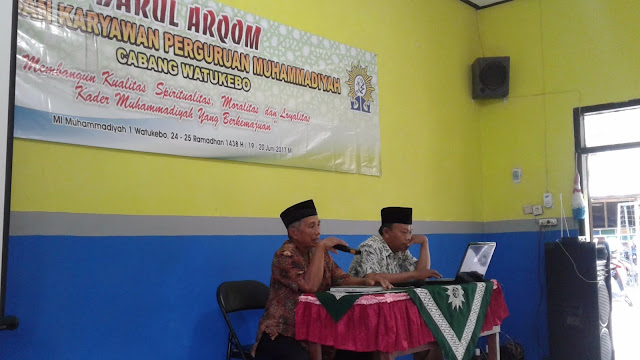 Duet Darul Arqom bagi Guru, Karyawan dan AMM PCM Watukebo