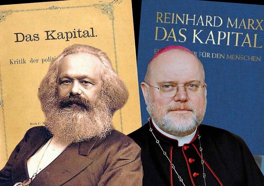 O Cardeal Reinhart Marx vem chocando continuadamente aos católicos alemães