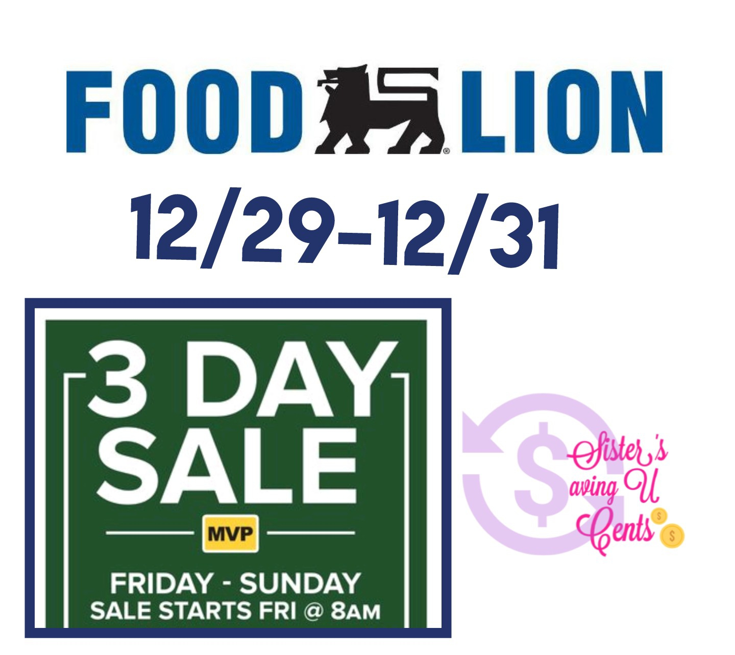 Food Lion 3 Day Sale !!