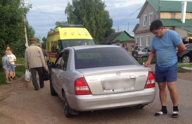 В Стерлитамаке 14-летняя девочка попала под машину