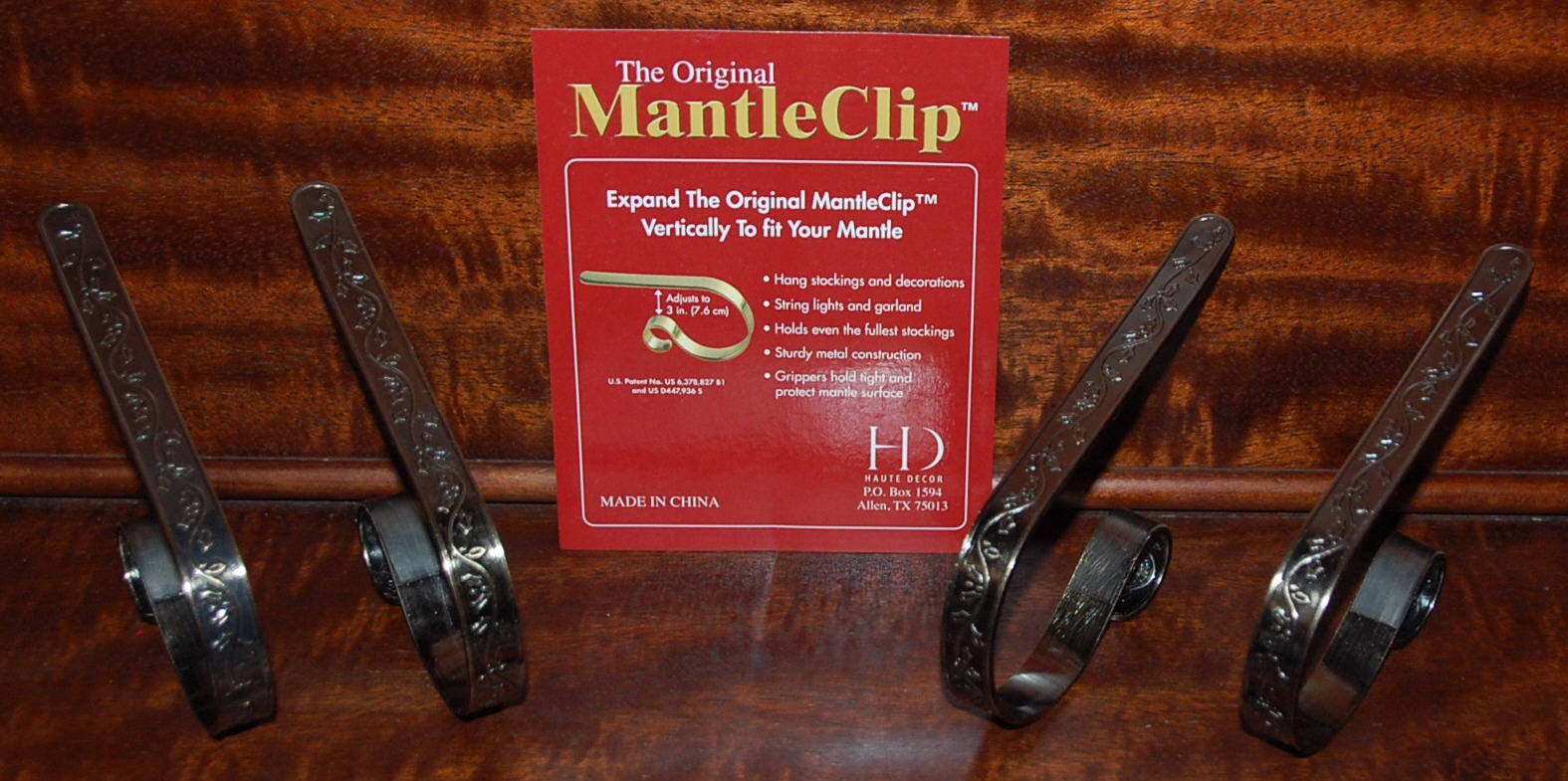 Royalegacy Reviews and More: Mantle Clip Stocking Holders ...