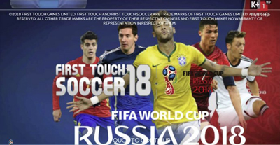 FTS 18 Mod FIFA World Cup 2018 by NGO QUY TAI Android Terbaru